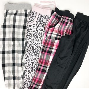 Victoria's Secret Sleepwear Pant Lot and Grey Top
